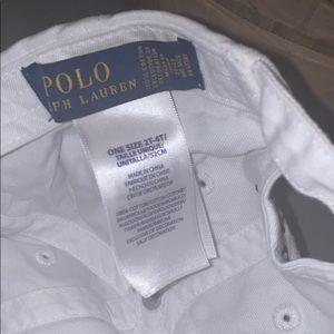Polo by Ralph Lauren Accessories - Toddler white/navy Polo Baseball cap